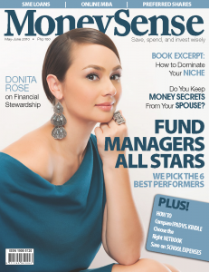 Donita Rose on the cover of MoneySense Magazine
