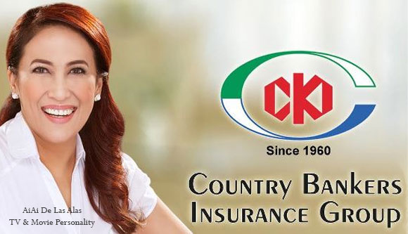 Photo of Ai Ai de las Alas and Country Bankers Life Insurance Corporation Logo