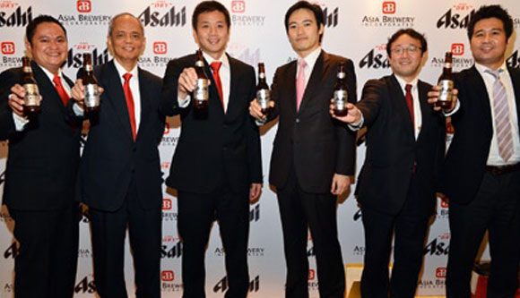 Asia Brewery Ties Up with Asahi Breweries of Japan