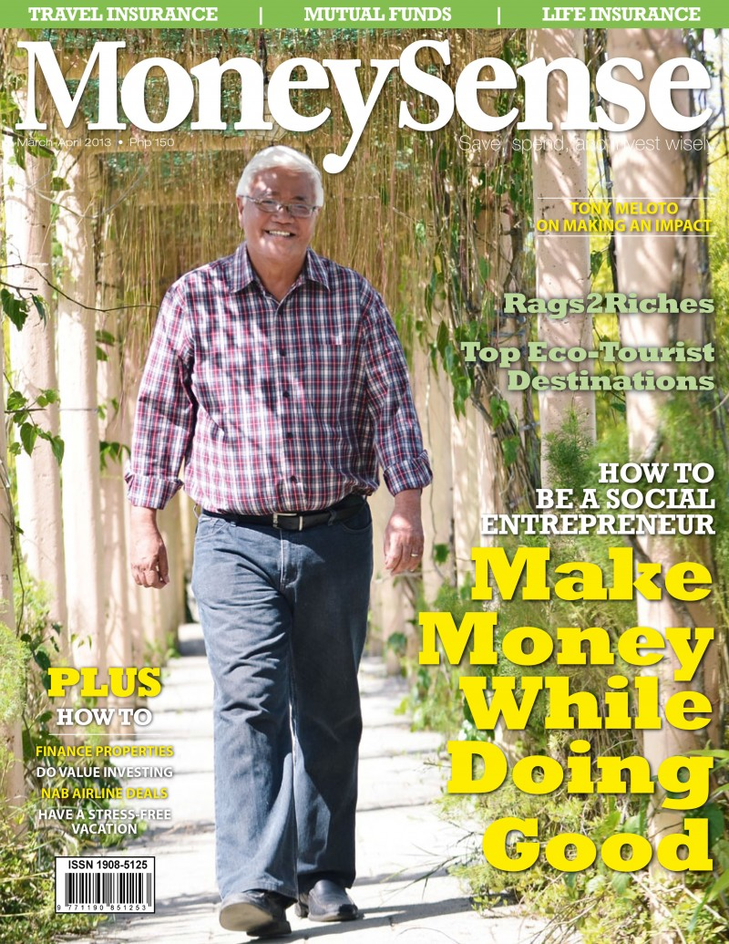 MoneySense March - April 2013 Cover