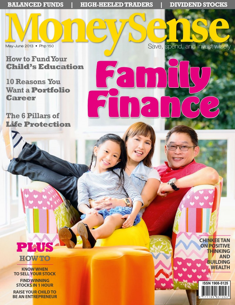 MoneySense May - June 2013 Cover