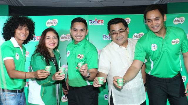 MILO, DepEd Tie Up To Lead One Child, One Sport Campaign