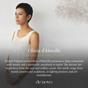 Denovo Diaries: Olivia d'Aboville Crystal Dew Collection