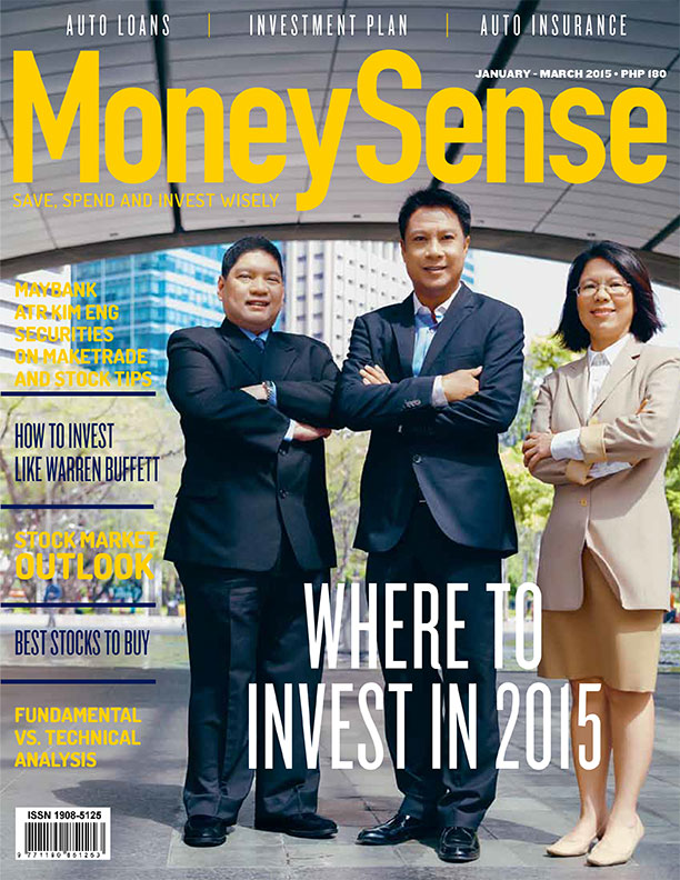 MoneySense 1st Quarter 2015 Issue Cover