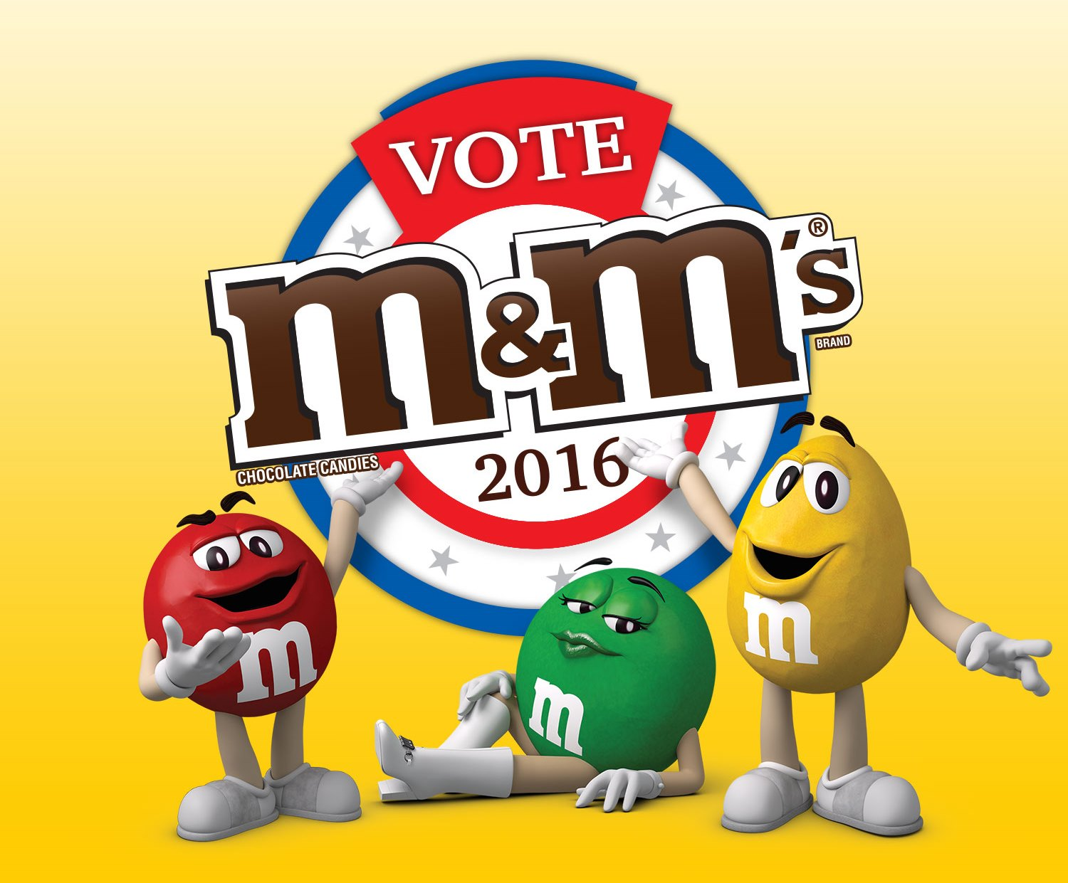 THE VOTE M&M'S® 2016 CAMPAIGN HEATS UP AT EXCITING MITING DE AVANCE