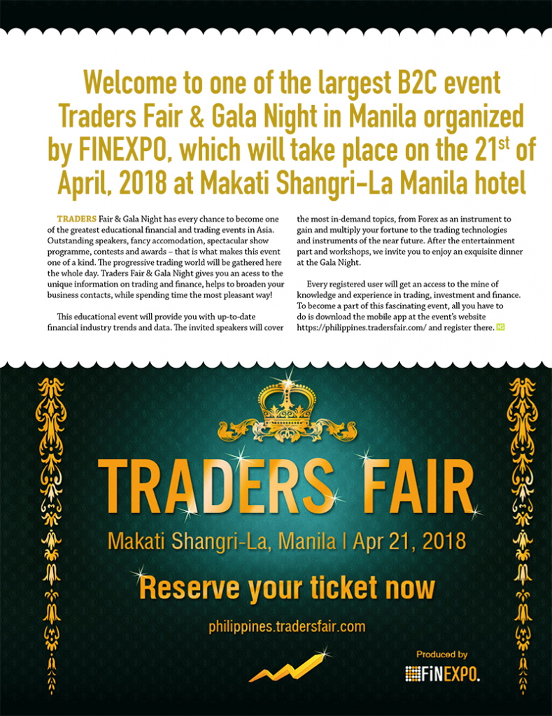 Traders Fair & Gala Night in Manila