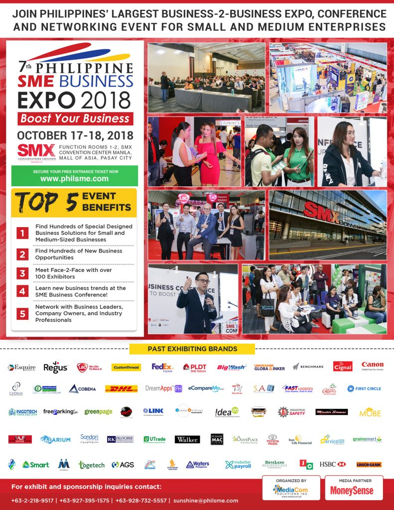 The Philippine SME Business Expo [PHILSME]