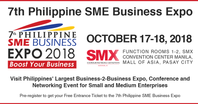 7th Philippine SME Business Expo 2018