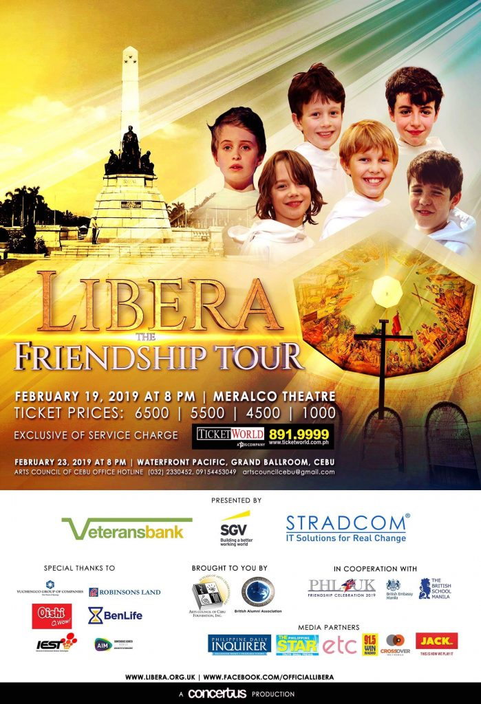 Libera Boys Choir Poster